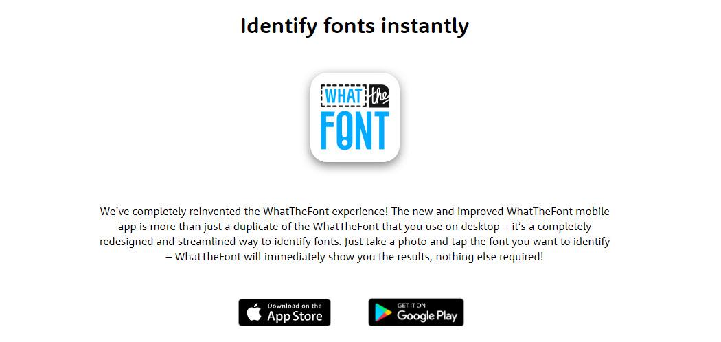 Social Media App - What The Font